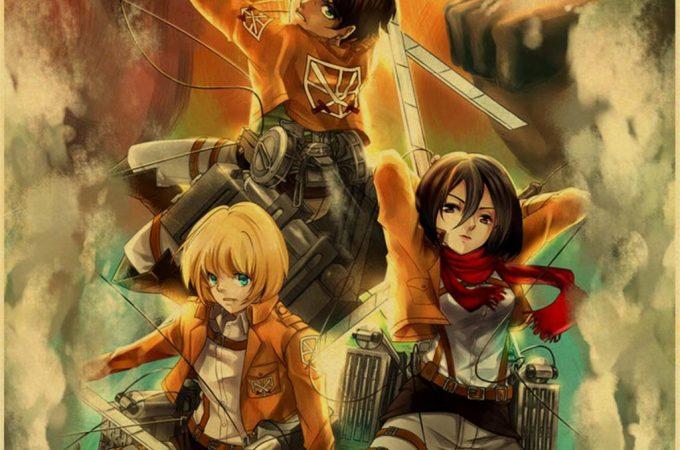 Attack On Titan- Sezon 1 Bölüm 1 – Shiganshina'nın Düşüşü